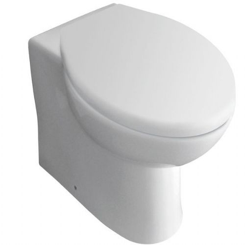 Kartell G4K Back To Wall - Soft Close Seat - White